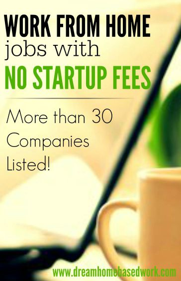 legitimate free work from home jobs legit and free work at home jobs with no startup fees 696