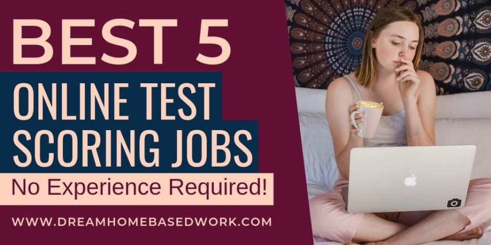 Best 5 Test Scoring Entry Level Work from Home Jobs Online