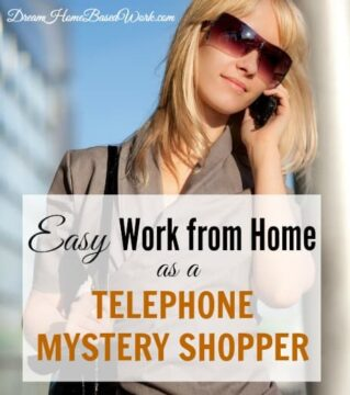Have you every thought making money without being held down to a computer? Then you should consider being a telephone mystery shoppe