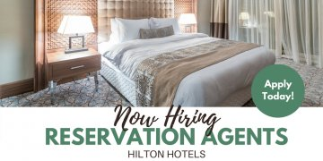 Become a Reservations Sales Agent with Hilton Hotels