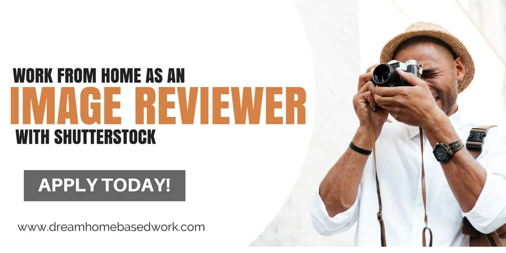Work From Home As an Image Reviewer with Shutterstock