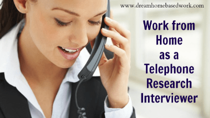 Get Paid To Take Phone Surveys from Home as a Research Interviewer