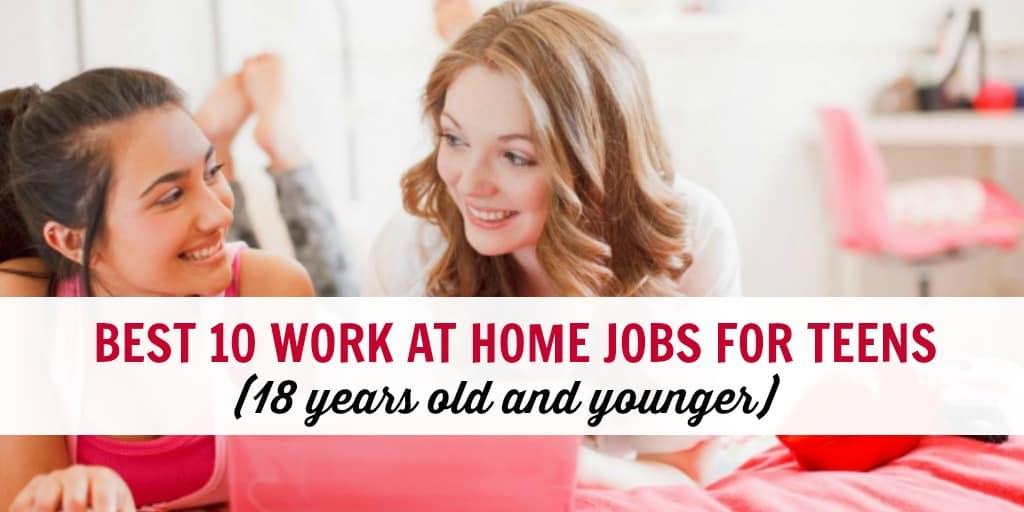 Best 30 Online Jobs For Teens Work From Home 18 And Under