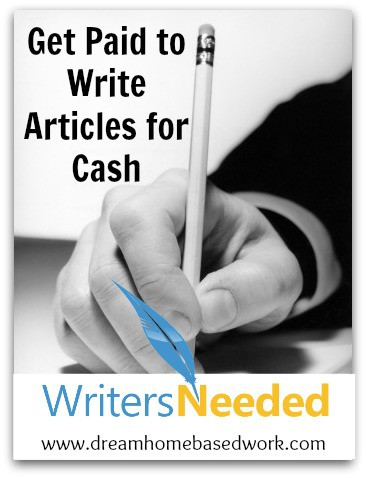 Work from home writing opportunities