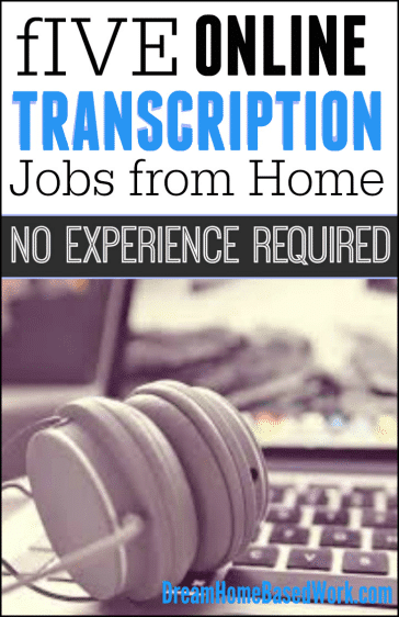 Home Based General Transcription Jobs