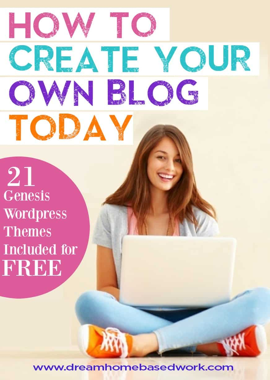 Want to make money blogging online? Create your own blog like a pro in 5 simple steps - blogging tutorials and free website themes included.