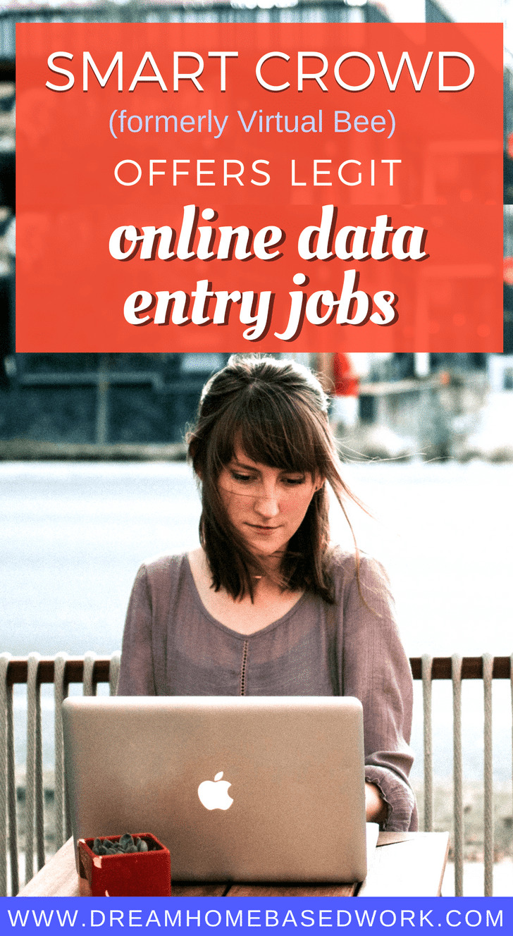 Need a legitimate work at home data entry job? SmartCrowd Offers Legit Online work at home typing jobs for residents in the US.