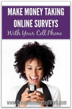 "Make a little extra money ""on the go"" by taking online surveys with your cell phone! List of the best legitimate survey companies!"