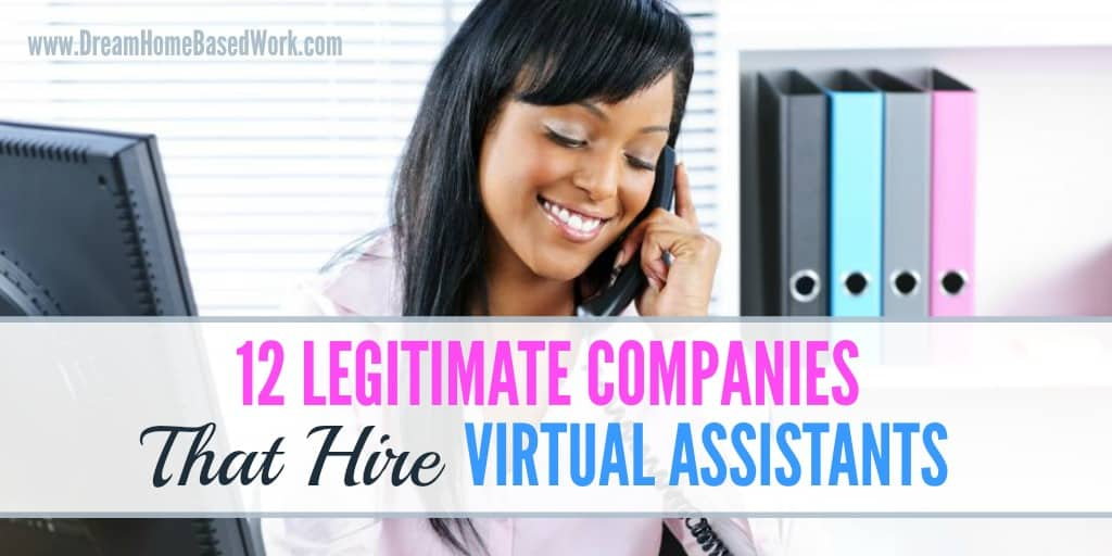 12 legitimate companies that hire virtual assistants - Real Virtual Assistant Jobs