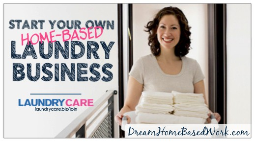 start your own laundry care business from home