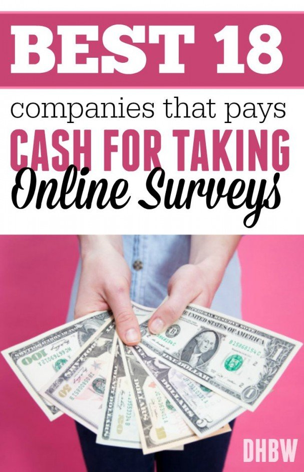 taking online surveys for money best companies that pays cash for taking online surveys 3957