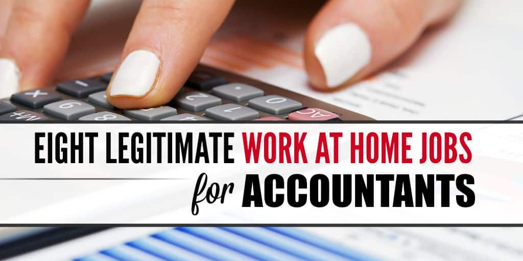 Read more about the article 8 Legitimate Online Jobs For Accountants and Bookkeepers