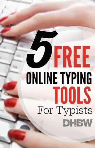 Learning how to type using online tools can enhance your overall typing speed and make you a professional typist.