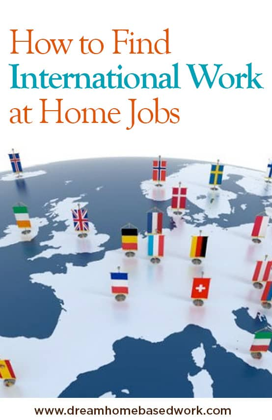How To Find International Work from Home Jobs To Make Money