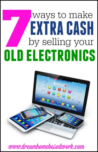 Learn how you can make extra money by selling your old electronics. These sites will buy back your gently used phones, ipads, and more in exchange for cash.