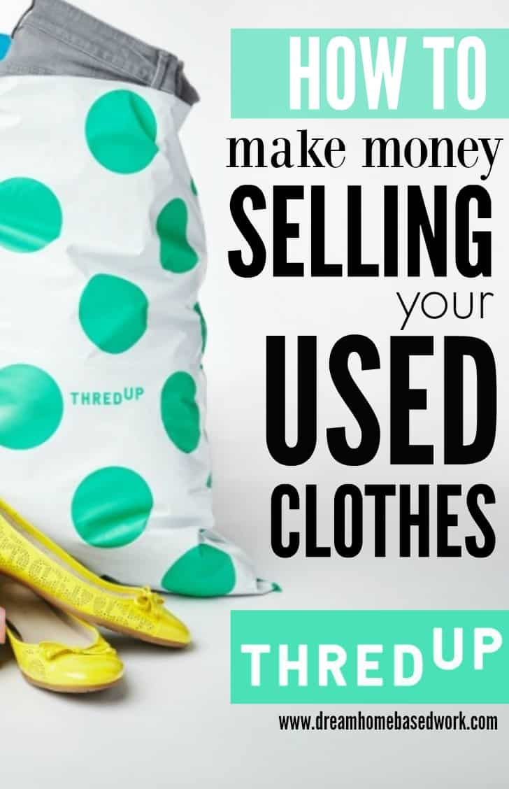 How to make money on thredup by selling your used items for Items to make and sell from home