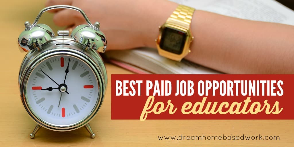 Best Well-Paid Online Job Opportunities for Educators