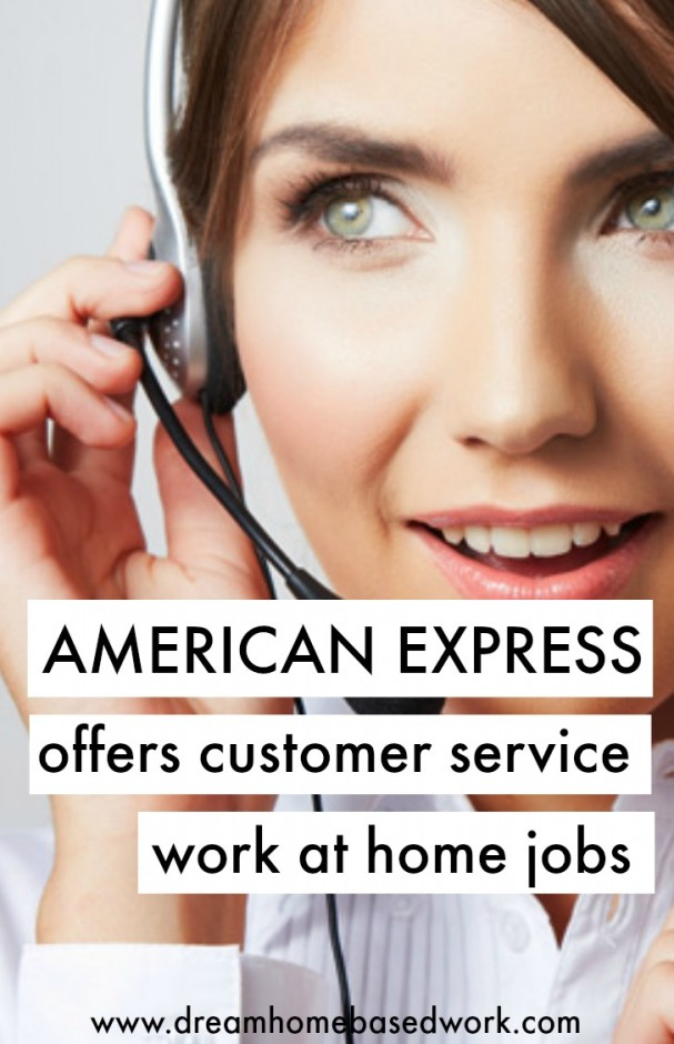 American Express Offers Home Based Jobs with Great Benefits!