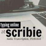 Make Money Typing Online at Scribie