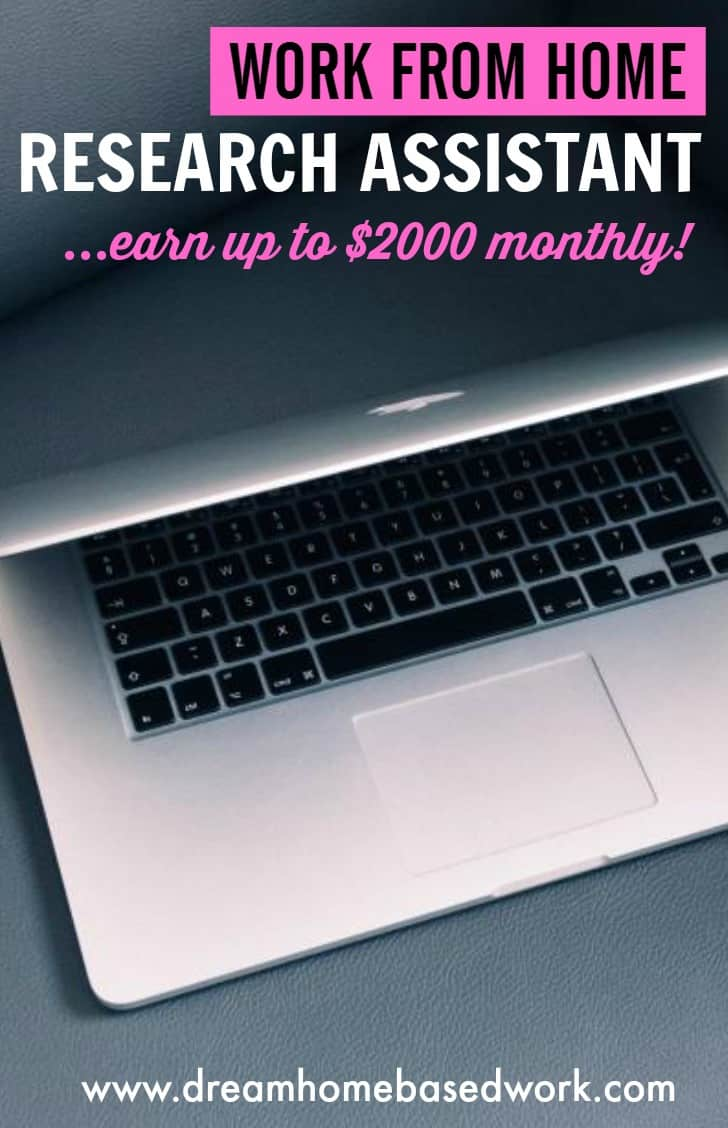 Become A Research Assistant and Earn Up To $2,000 Monthly