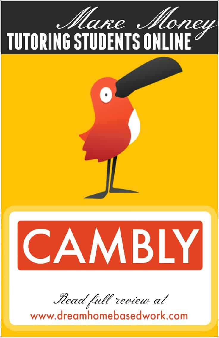 If you speak English fluently, Cambly gives you the opportunity to tutor English students around the globe, and pays you for each full minute you teach.