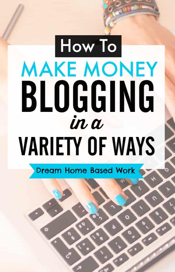 Interested in finding a variety of ways to make money from your blog? This blogging guide will narrow down the different options you can implement into your money-making blog.