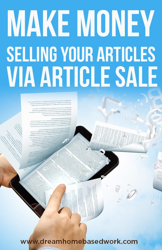 Have you ever though about writing and selling your articles for profit? This post will cover how to do that on ArticleSale.