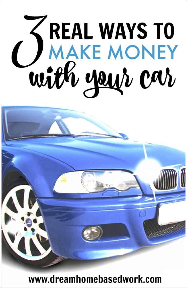 If you are looking to make some extra cash, there are many ways to use your car as an income source -- with or without being behind the wheel.