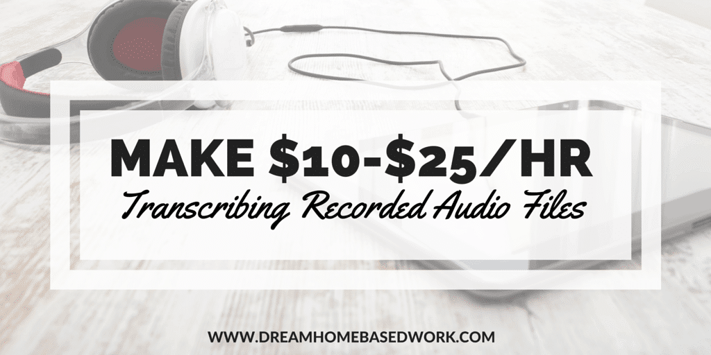 3 Play Media: Get Paid $10-$25/hr Transcribing Recorded Audio Files