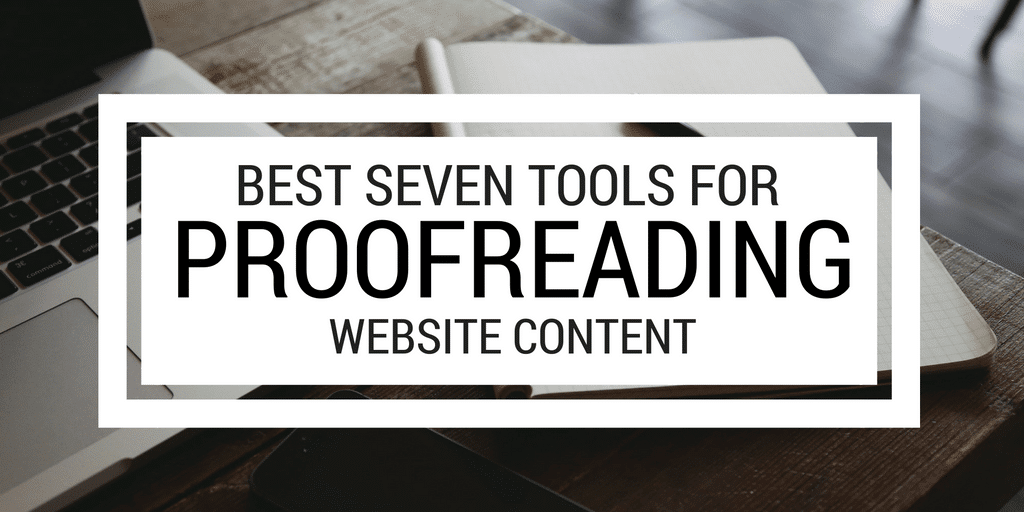 Online proofreading tools work from home
