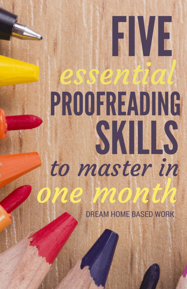 5 Essential Proofreading Skills to Master in One Month