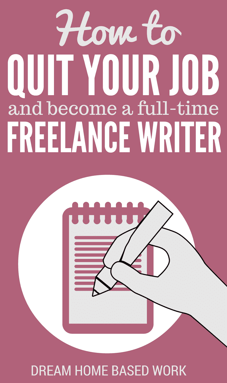Have you ever thought about becoming a freelance writer and working for yourself? Discover how to quit your job to work from home as a freelance writer.