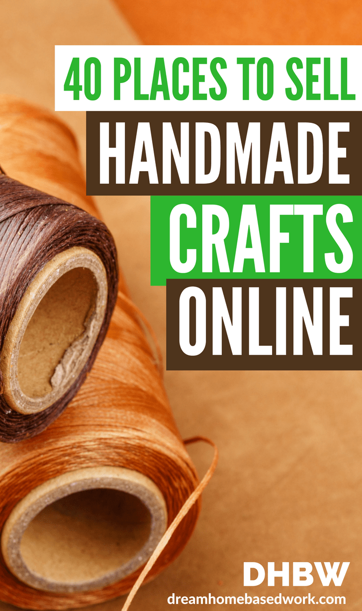 Where Can I Sell Handmade Crafts Online