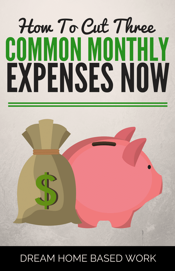 Cutting expenses is one of the best and easiest ways to stretch your dollar and eliminate extra spending. Here are some of my best strategies for cutting three of the most common expenses.