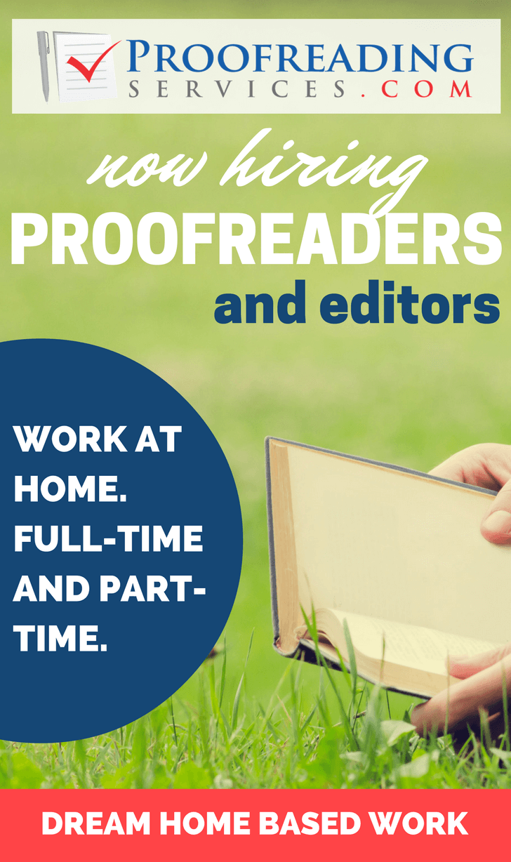 Flexible Online Proofreading and Editing Jobs with Proofreadingservices.com