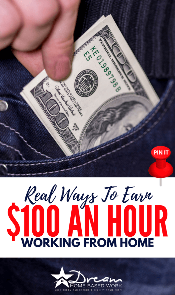 Discover 3 ways you can work from home and earn $100 per hour online. Here you'll learn how to make money online with no experience.
