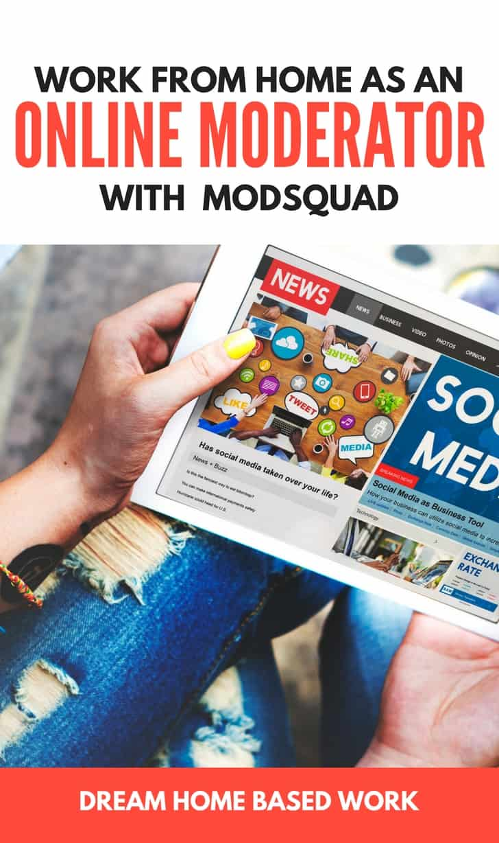 Work from Home with Modsquad as an Online Moderator