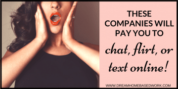 These 5 Companies Will Pay You To Chat, Flirt, or Text Online