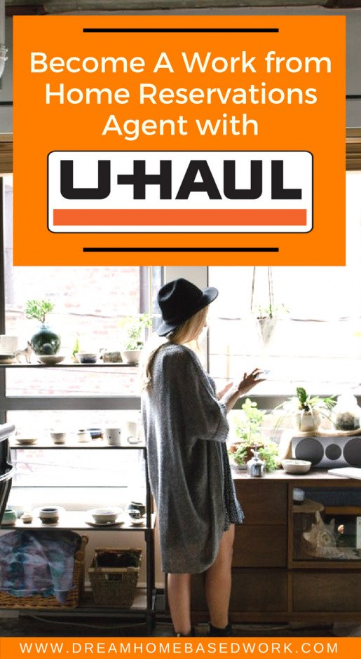 Become a Work from Home Reservations Agent with Uhaul