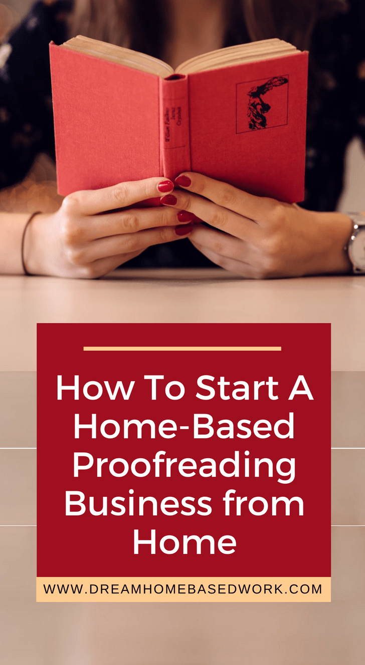 Have you ever thought about starting a home-based business? Proofreading can be a lucrative career if you are great at spotting grammar errors on articles online.