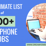 The Ultimate List of 200+ Non-Phone Work from Home Jobs