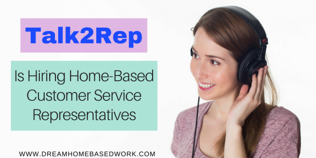 Talk2Rep is Hiring (Live Chat) Customer Service Reps To Work from Home