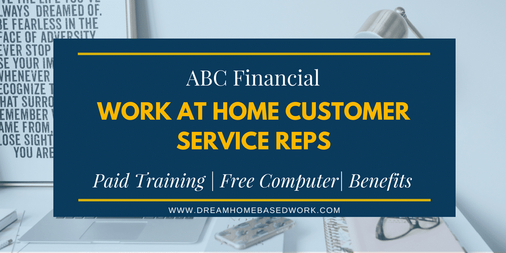 ABC Financial is Hiring Home-Based Virtual Agents – Apply Today!
