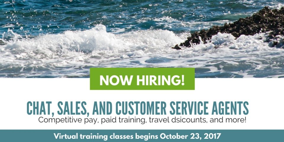 Now Hiring! Home-Based Chat, Sales, and Customer Service Agents at Cruise.com
