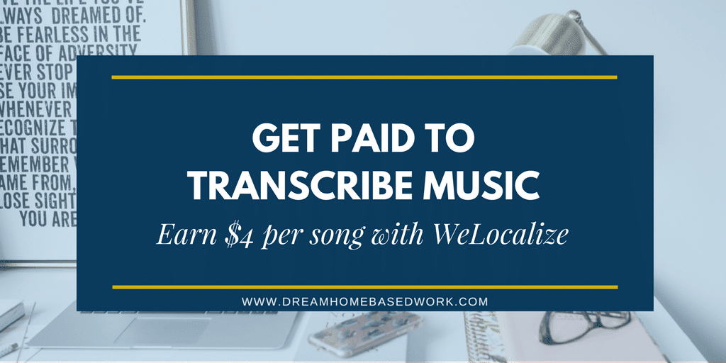 Music Lover? Get Paid Easy Cash To Transcribe Song Lyrics at WeLocalize