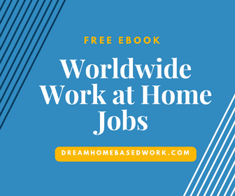 Worldwide Work at Home Jobs Free Ebook
