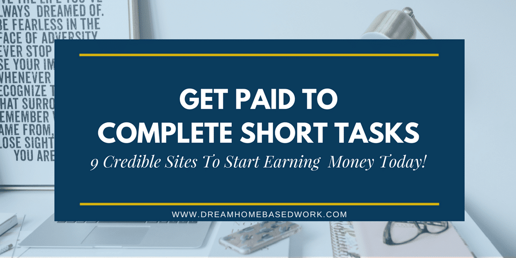 9 Short Task Sites to Make Extra Money Fast