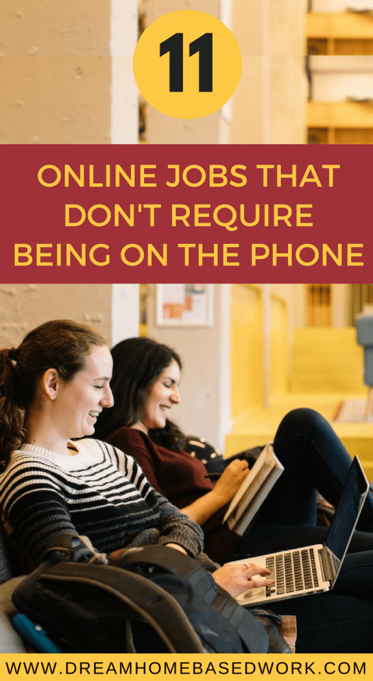 Best 11 Online Work at Home Jobs that Don't Require Being on the Phone