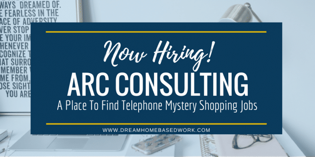 ARC Consulting: A Place To Find Worldwide Telephone Mystery Shopping Jobs