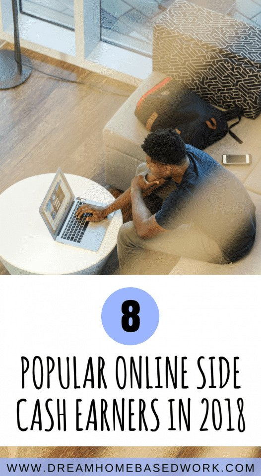 Do you want to earn money from home? These legit side earners are a great ways to make extra cash in your spare time. Try these 8 popular online side jobs in 2018.